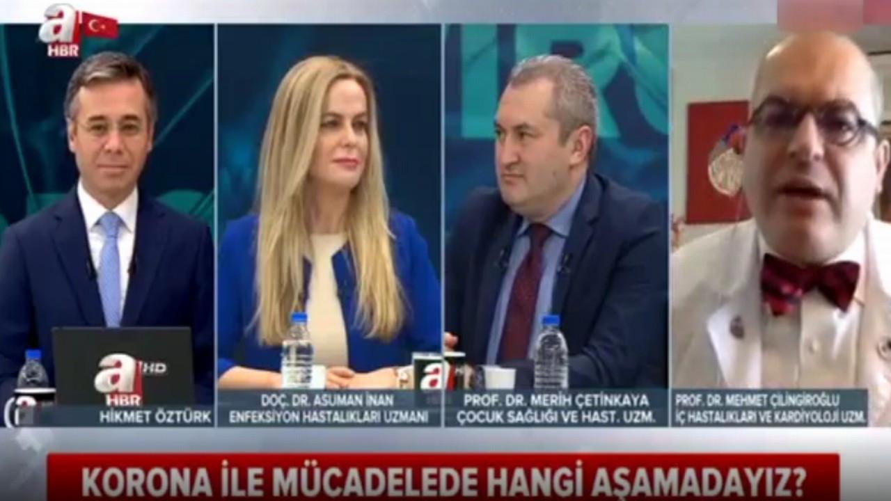 Prof. Dr. Mehmet Çilingiroğlu A Haber yayınında isyan etti!