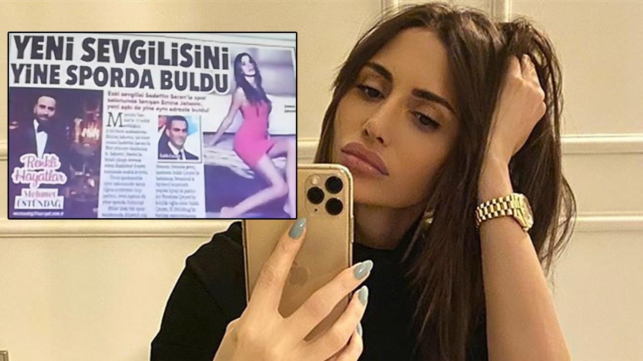 Emina Jahovic 'yeni aşk' haberini yalanladı