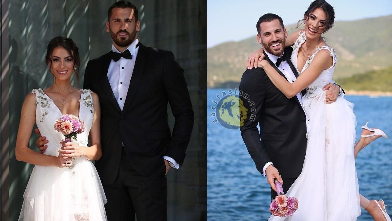 Ezgi Avcı yakışıklı basketbolcuyla evlendi