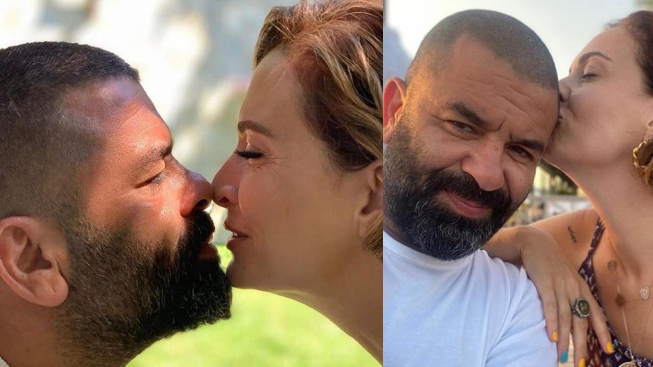 Ceyda Düvenci'nin eşiyle 'aşk' pozu tartışma yarattı