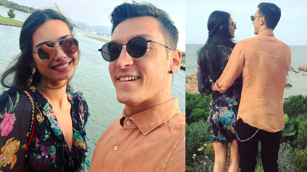 """Amine Gülşe'den eşi Mesut Özil'e bebek mesajı: """"5 çocuk sözü verdik"""""""