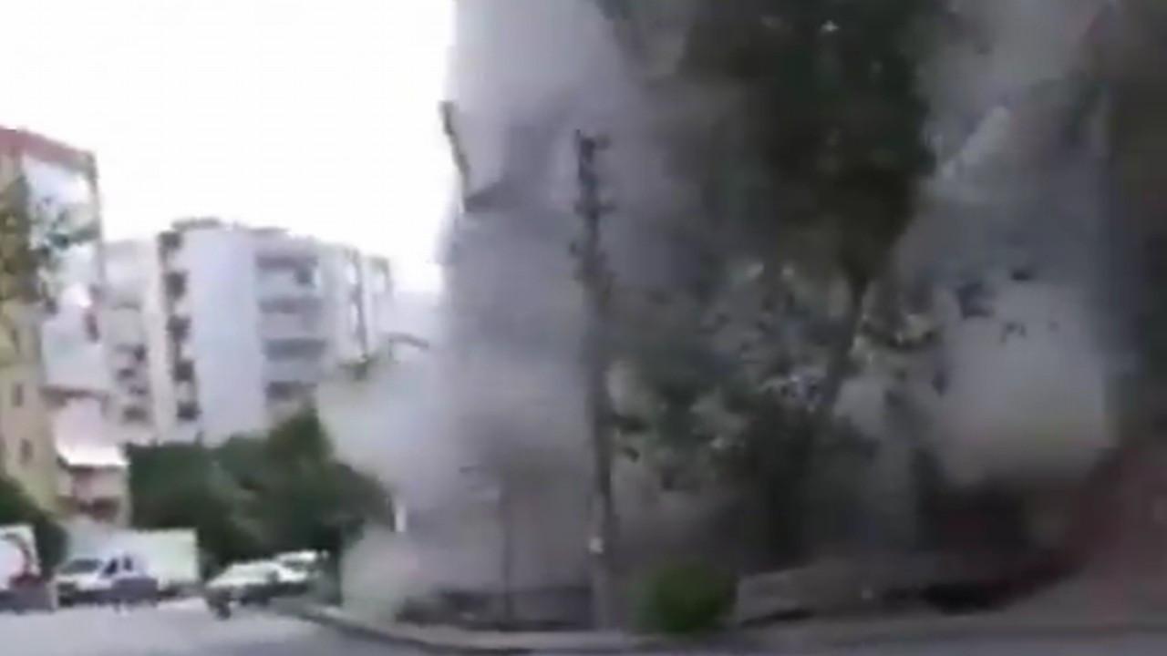 İzmir depreminden feci görüntüler