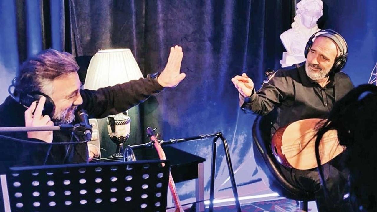 Oktay Kaynarca ve Yavuz Bingöl'ün sürpriz buluşması