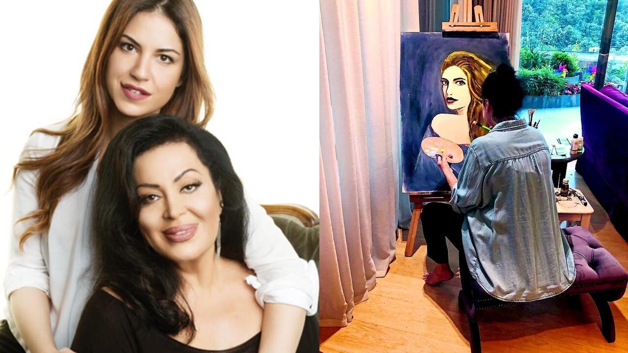 Türkan Şoray'ın resim atölyesi