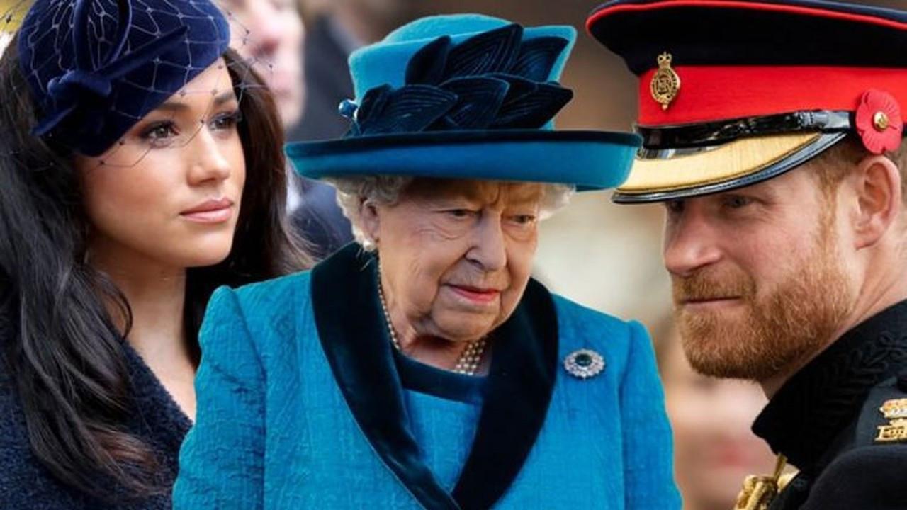 Kraliçe Elizabeth'ten yasal 'Harry-Meghan' adımı!