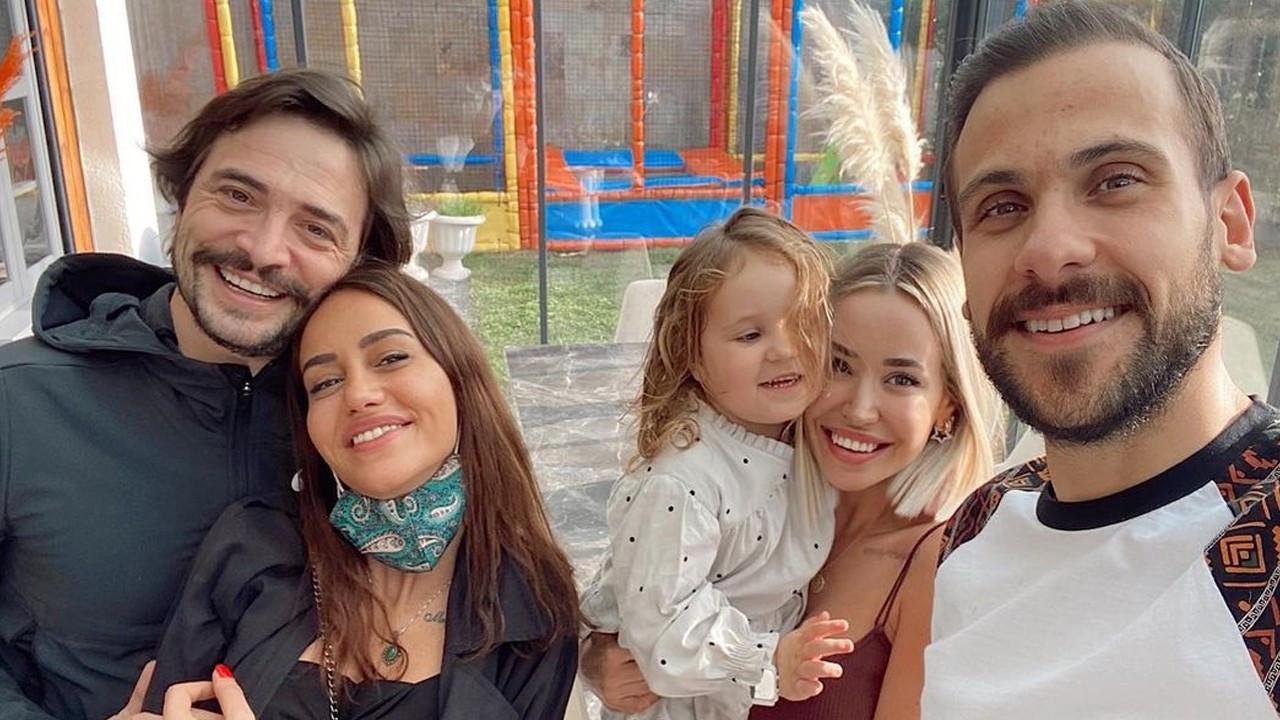 Ahmet Kural ve sevgilisi Erdim çiftiyle buluştu