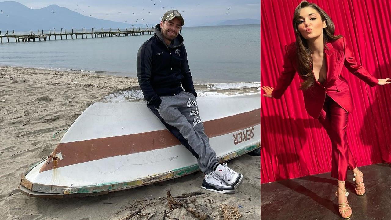 Murat Dalkılıç deniz kenarında sakinleşti