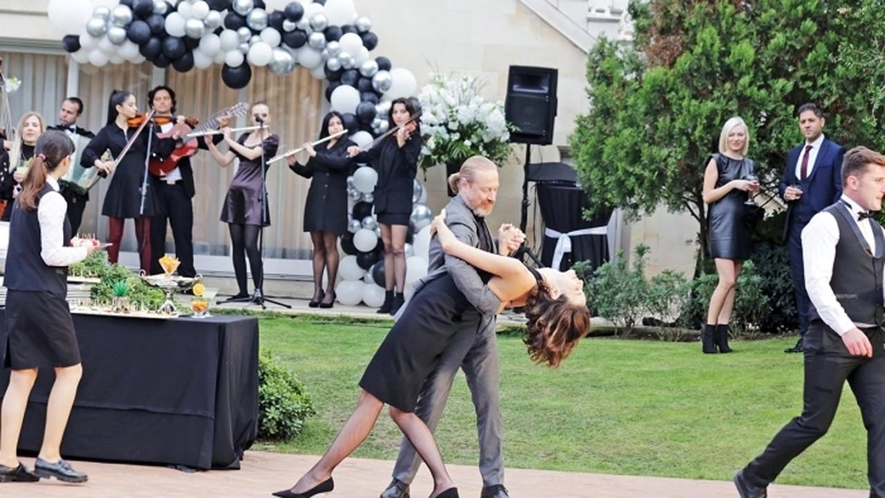 Büşra Develi ve Yıldıray Şahinler tango dersi aldı