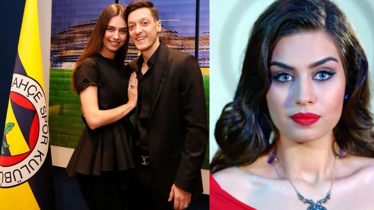 Amine Gülşe'den sakatlık yaşayan eşi Mesut Özil'e destek