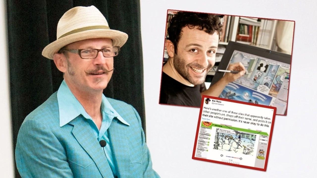 Dünyaca ünlü karikatüristten Erdil Yaşaroğlu'na telif suçlaması