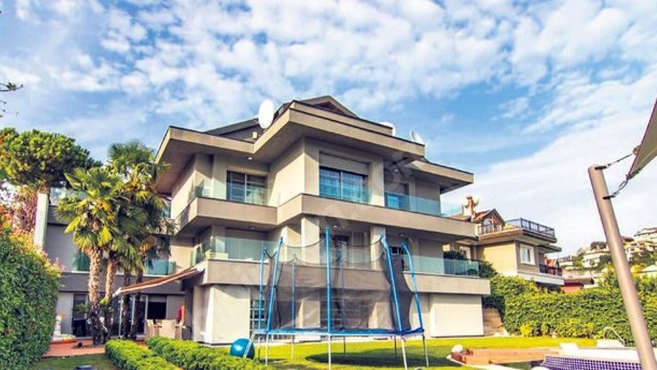 Beykoz Acarkent'teki 26 milyon liralık villa gündem yarattı!