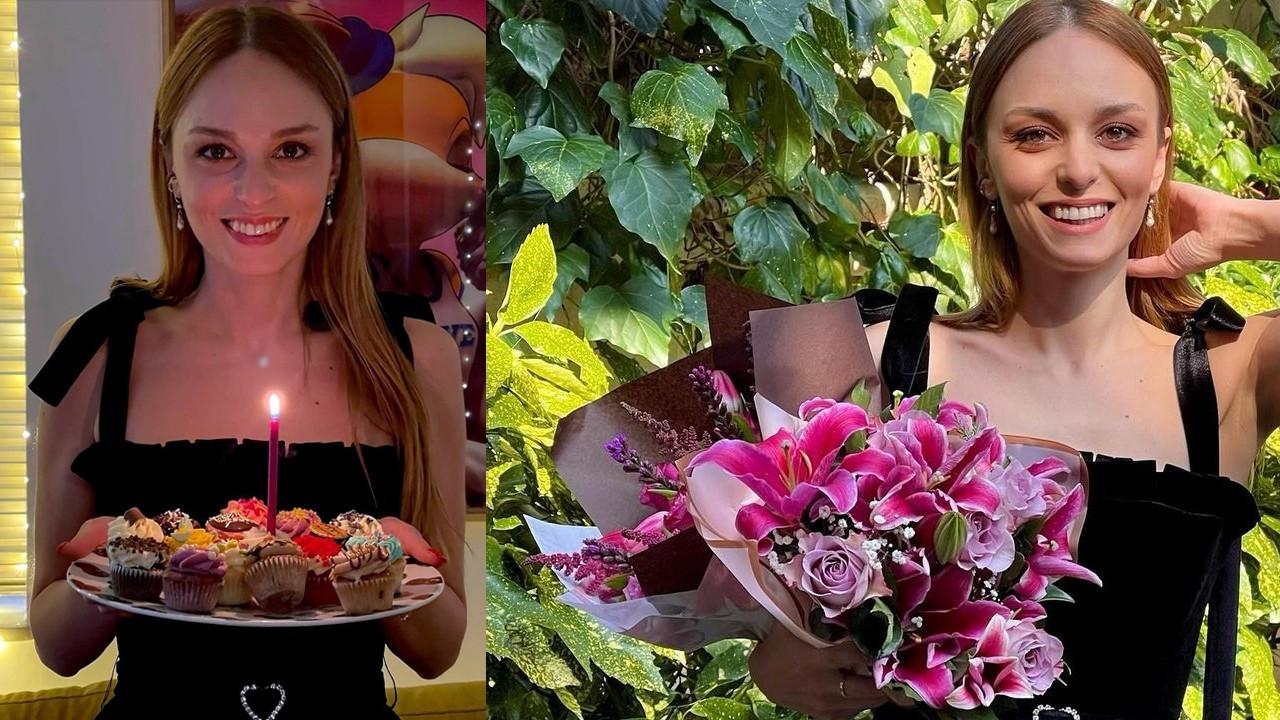Nilperi Şahinkaya'dan 33. yaşa çiçek gibi kutlama