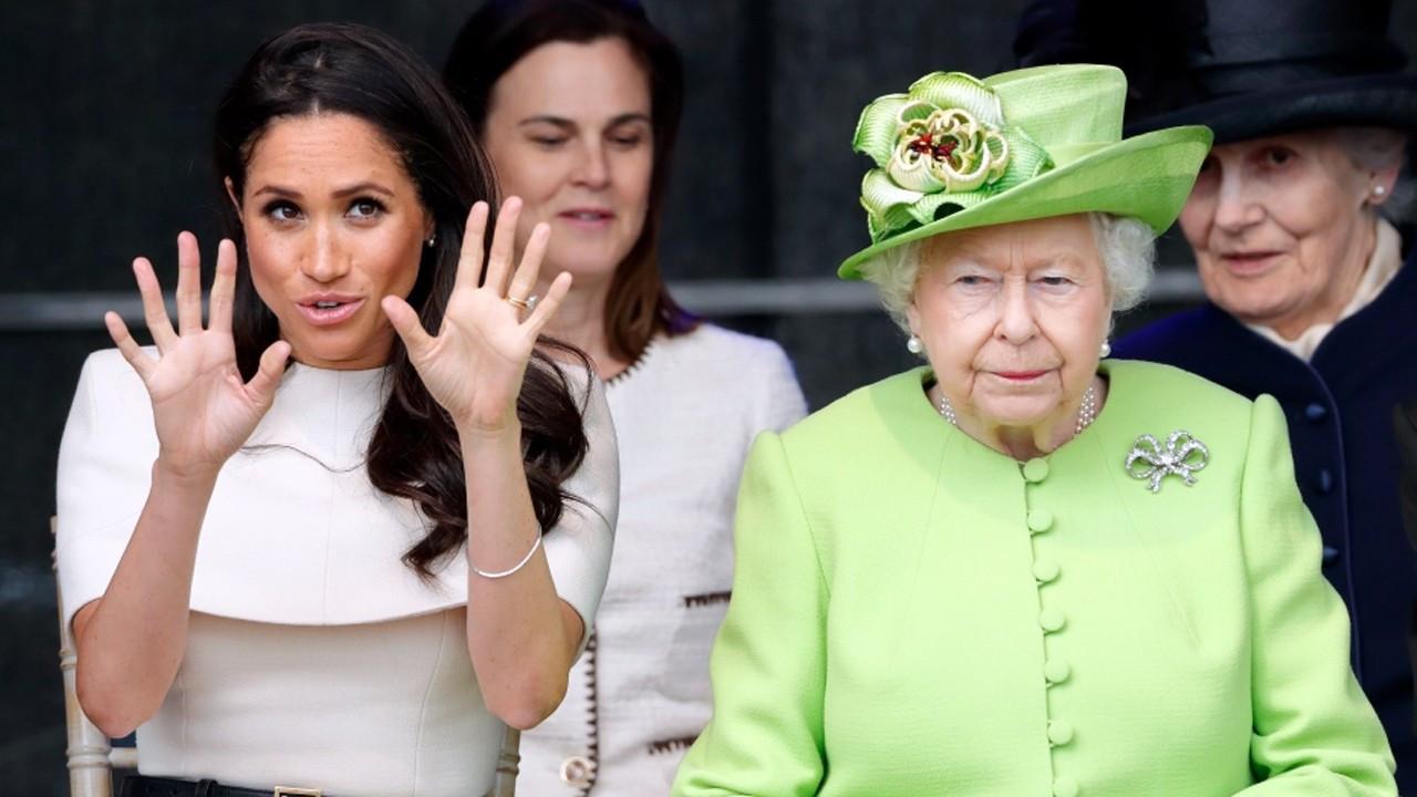 Kraliçe Elizabeth - Meghan Markle savaşı kızıştı!