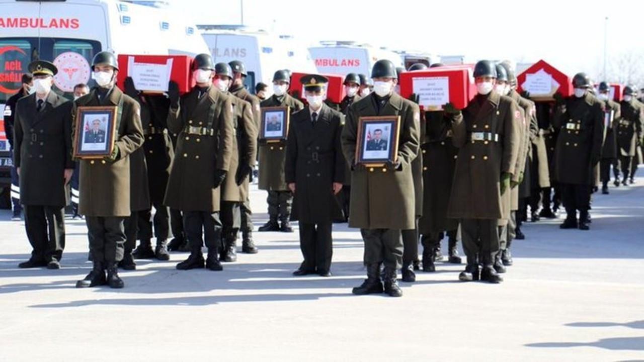Şehitlerimiz için Ankara'da devlet töreni