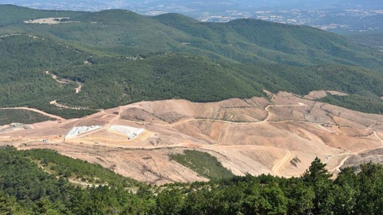 Kaz Dağları'nda altın ruhsatı iptal edilmemiş
