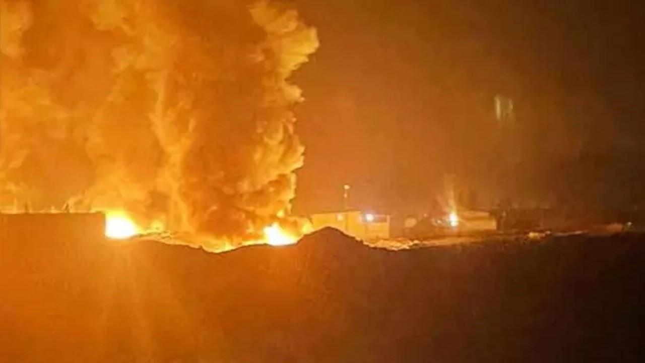 Suriye'nin kuzeyinde balistik füze saldırısı!