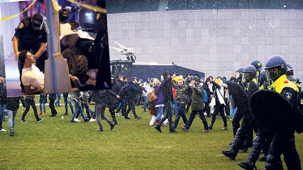 Avrupa'da karantinaya isyan eylemleri