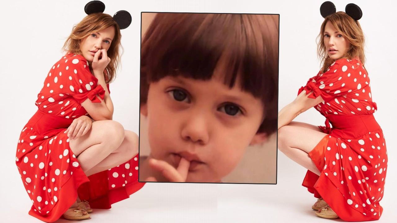 Meryem Uzerli'nin çocukluk fotoğrafına yoğun ilgi