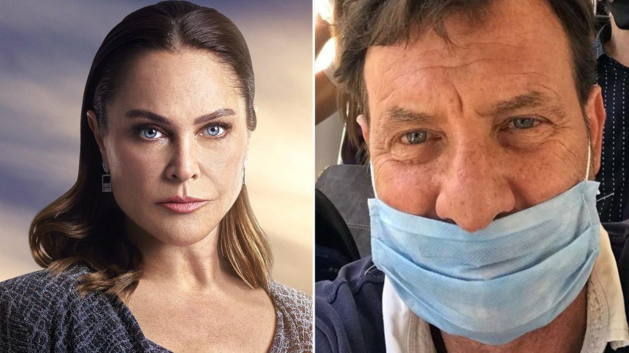 Hülya Avşar'dan Kaya Çilingiroğlu'na maske esprisi