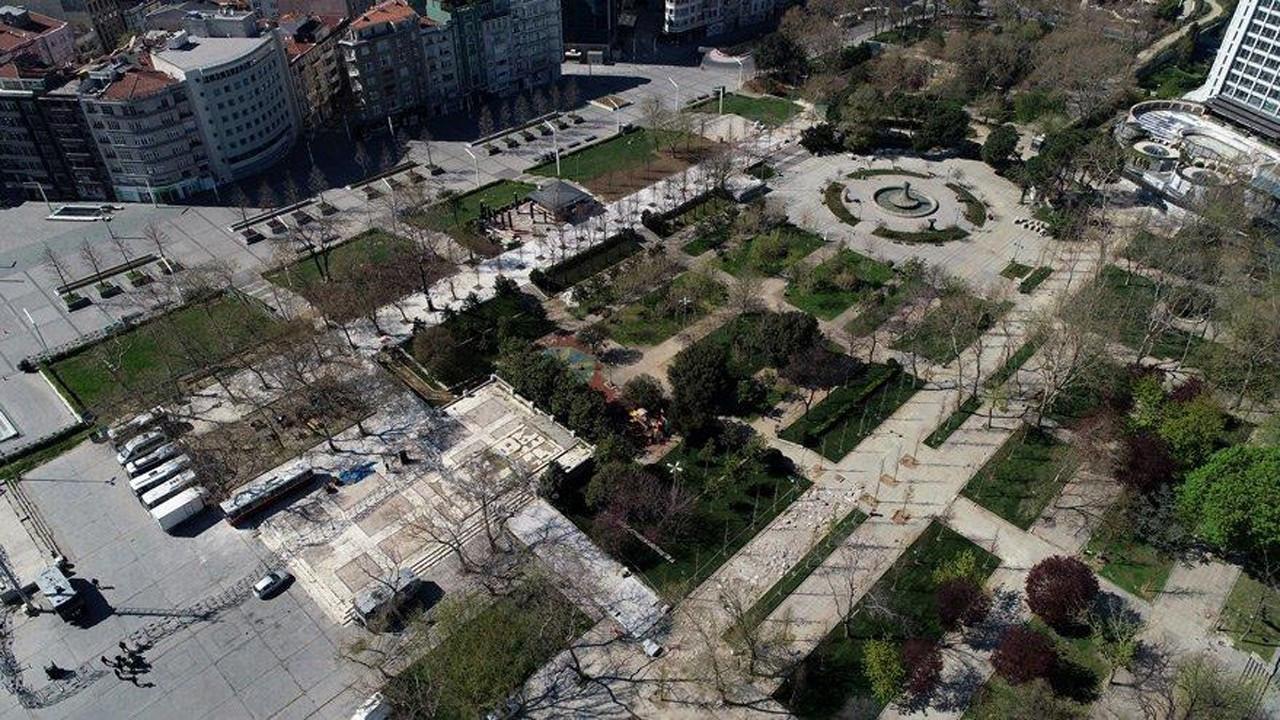 Gezi Parkı'nda vakıf skandalı