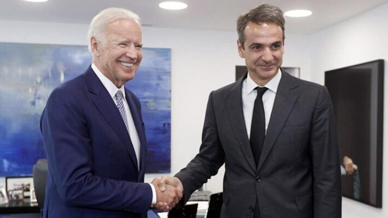 Joe Biden'dan Miçotakis'e Türkiye telefonu