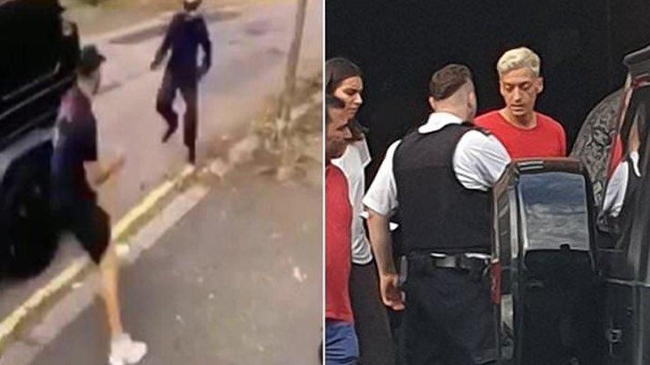 Mesut Özil'e Londra'da saldıran çeteye verilen ceza belli oldu