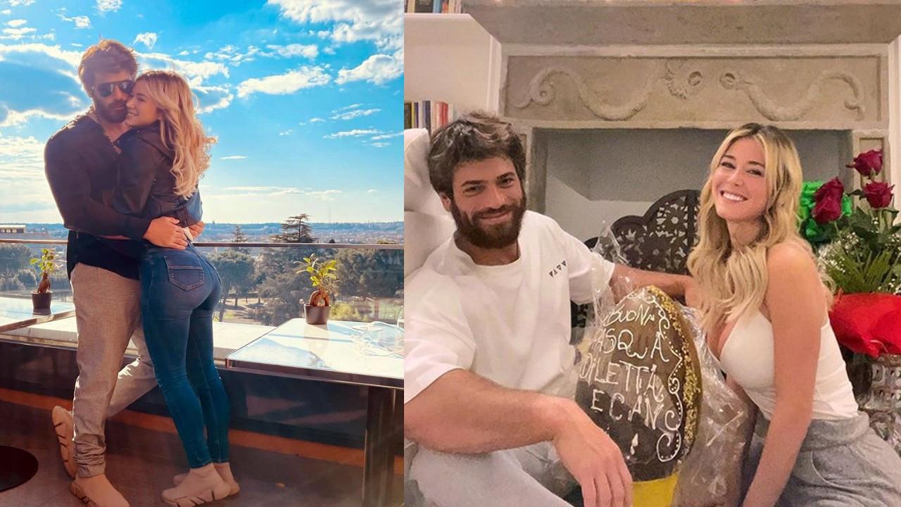 Can Yaman ve Diletta Leotta'nın Roma'daki aşk yuvası