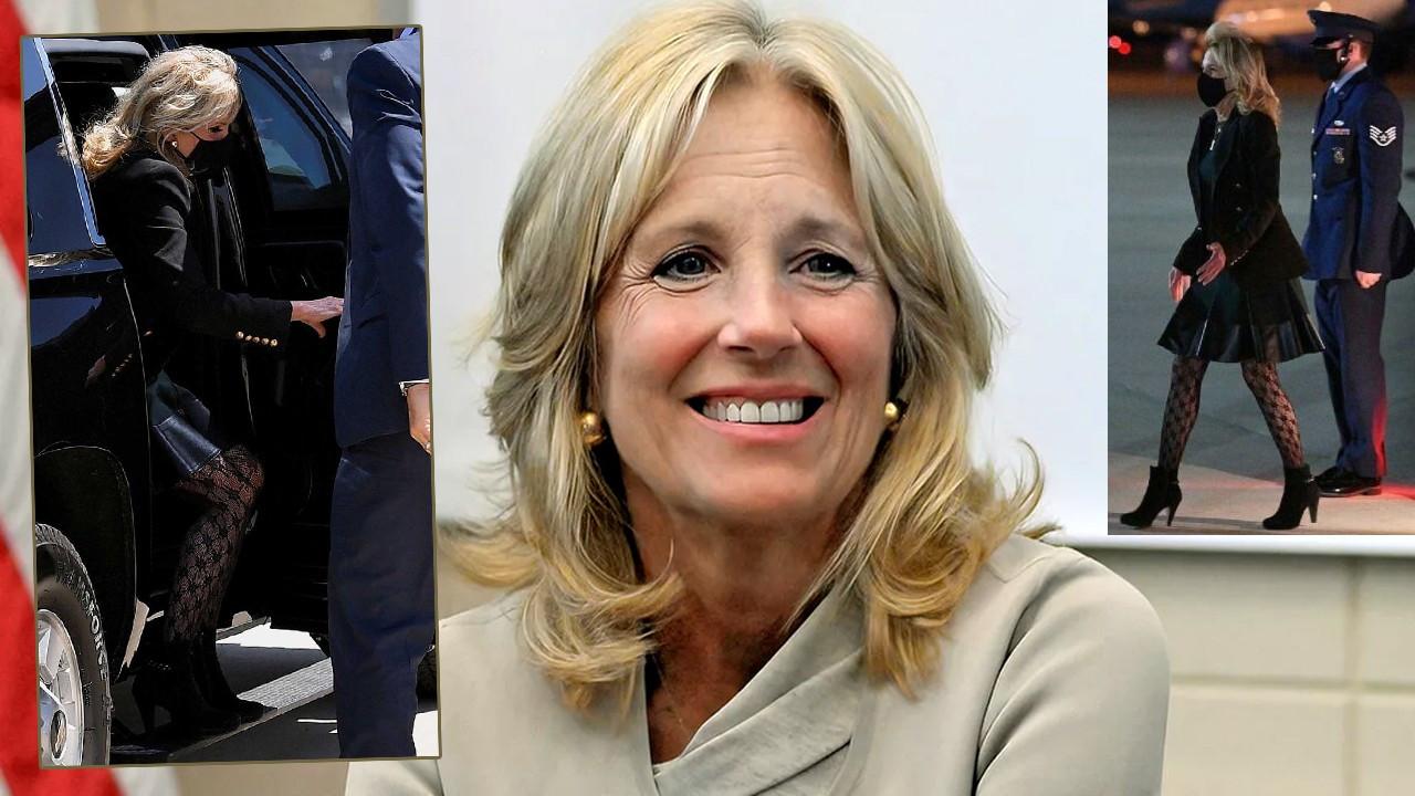 Jill Biden'ın kıyafetlerine ağır eleştiri