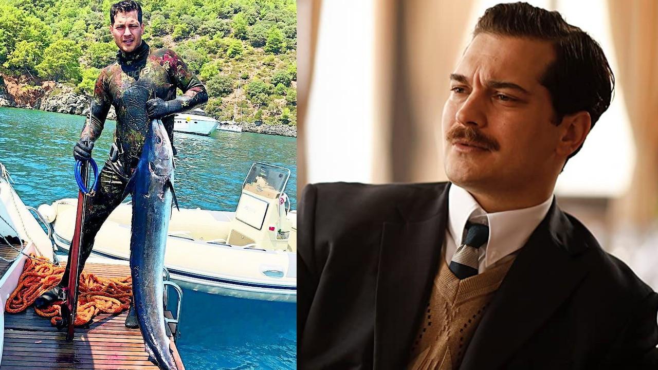 Çağatay Ulusoy çekimler biter bitmez Çanakkale'de villa tuttu