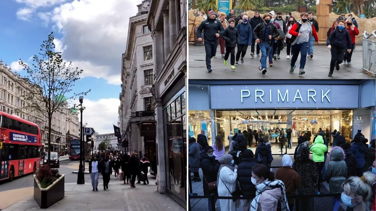 Maskeleri kaldırmayı planlayan İngiltere'de vaka sayıları patladı!