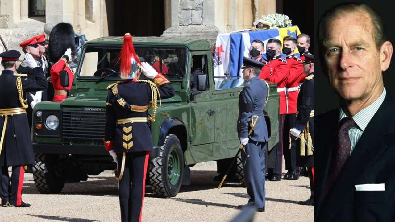 Prens Philip için cenaze töreni düzenlendi