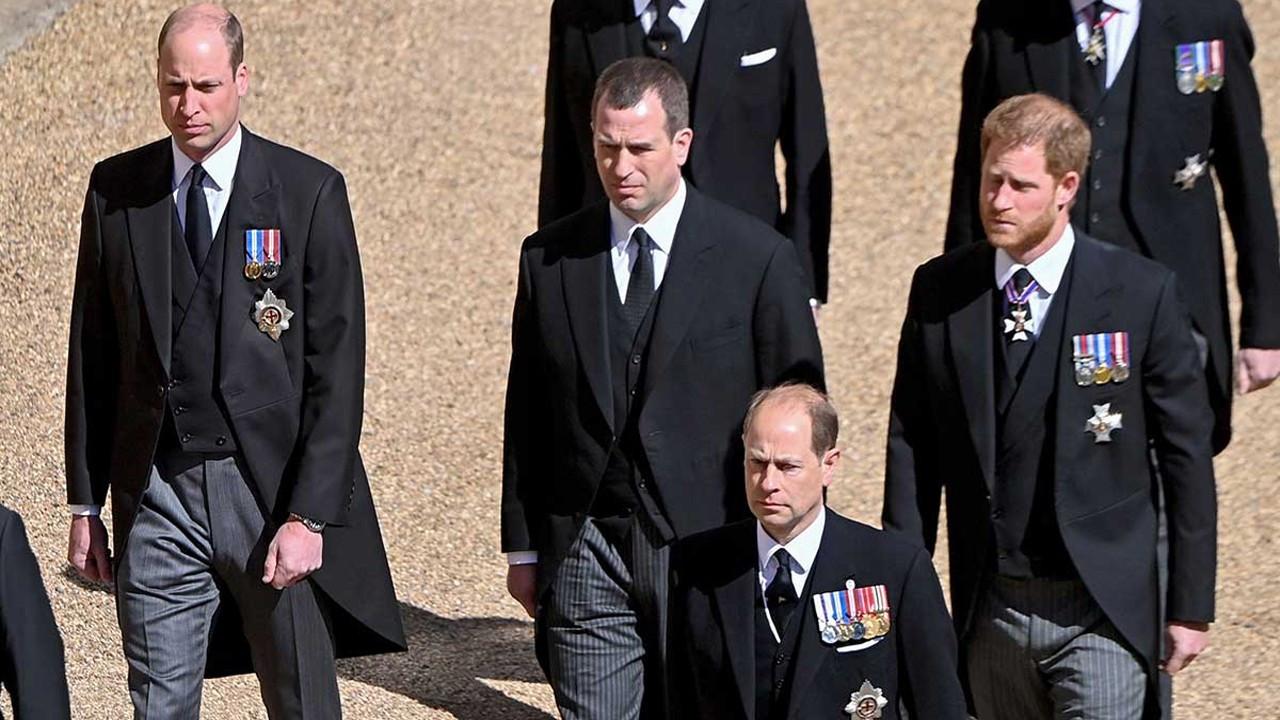 Prens Harry ve Prens William cenazede barıştı mı?