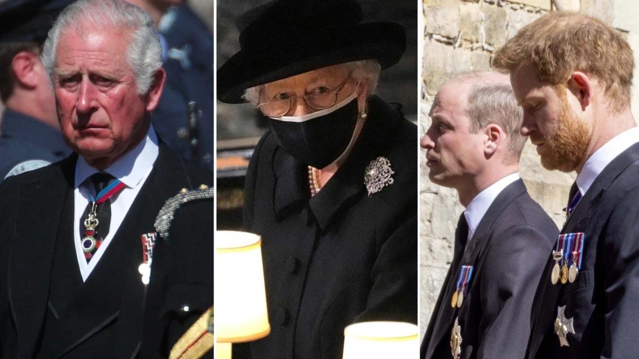 Prens Harry cenazenin ardından ağabeyi ve babasıyla neler yaşadı?