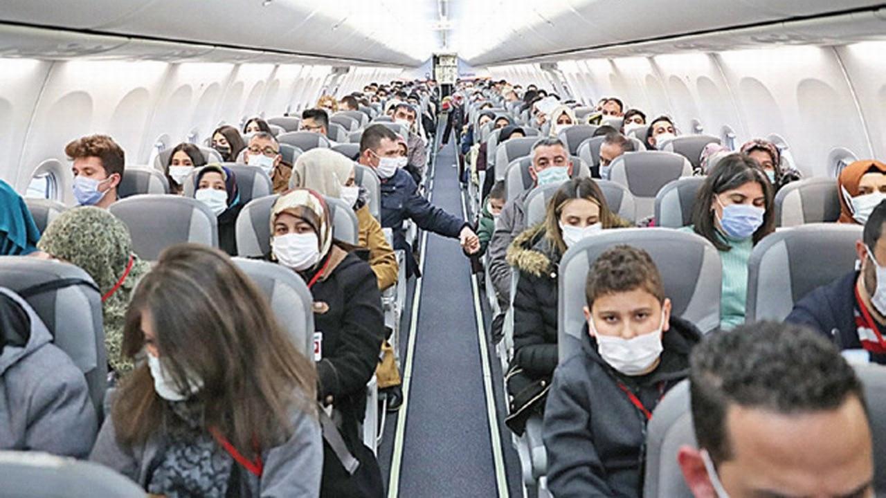 Uçaklar yine lebalep dolacak
