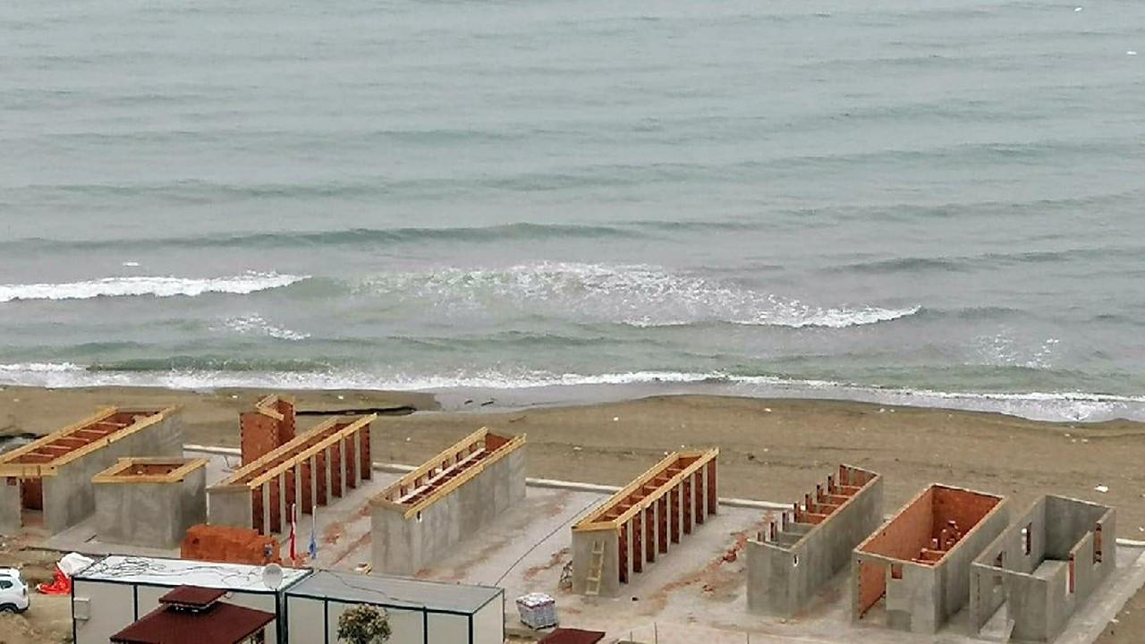 """AKP'li belediyeden tepki çeken proje: """"Bu nasıl bir plaj?"""""""