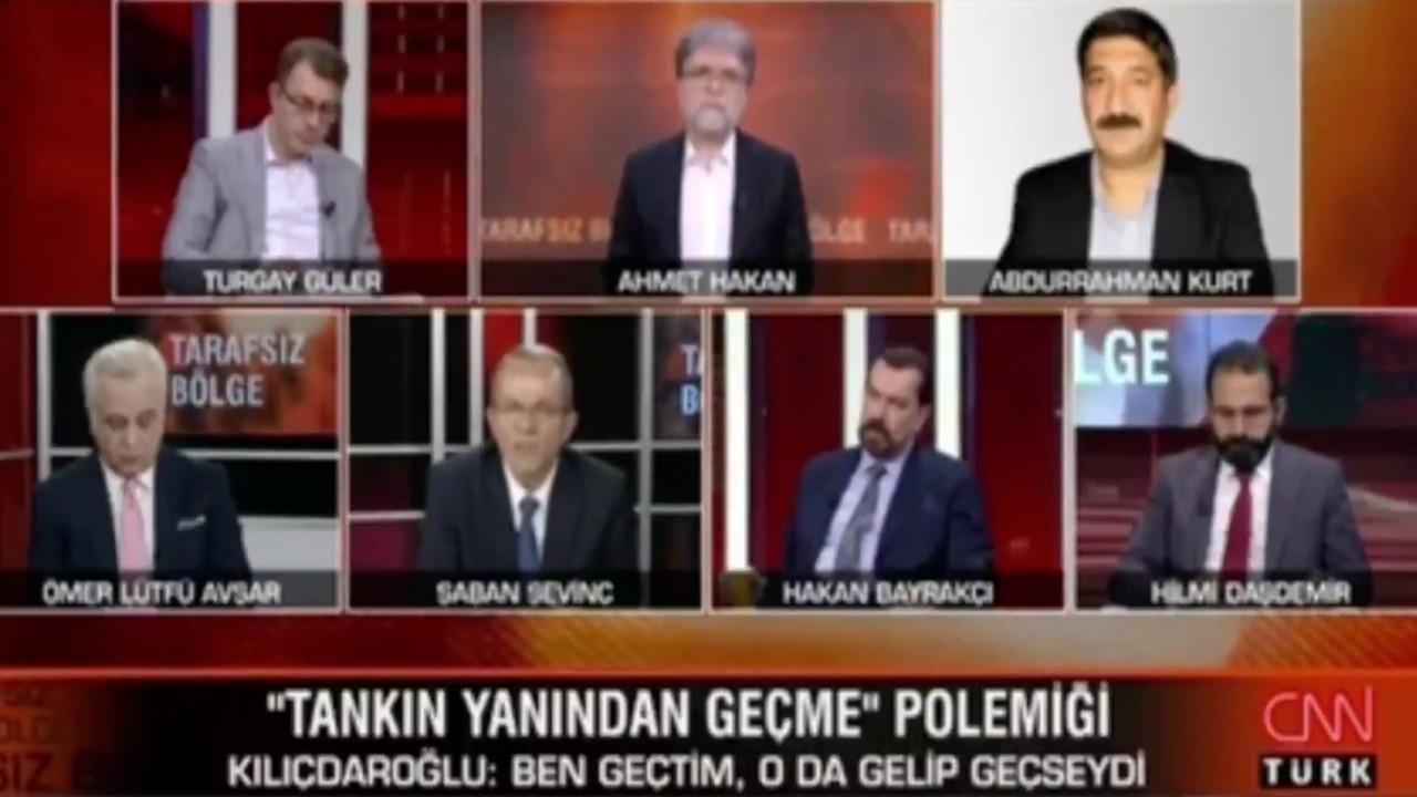 CNN Türk canlı yayınında sert tartışma