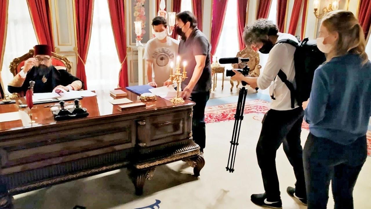 """Alman medyası """"Payitaht Abdülhamid"""" dizisinin setinde"""
