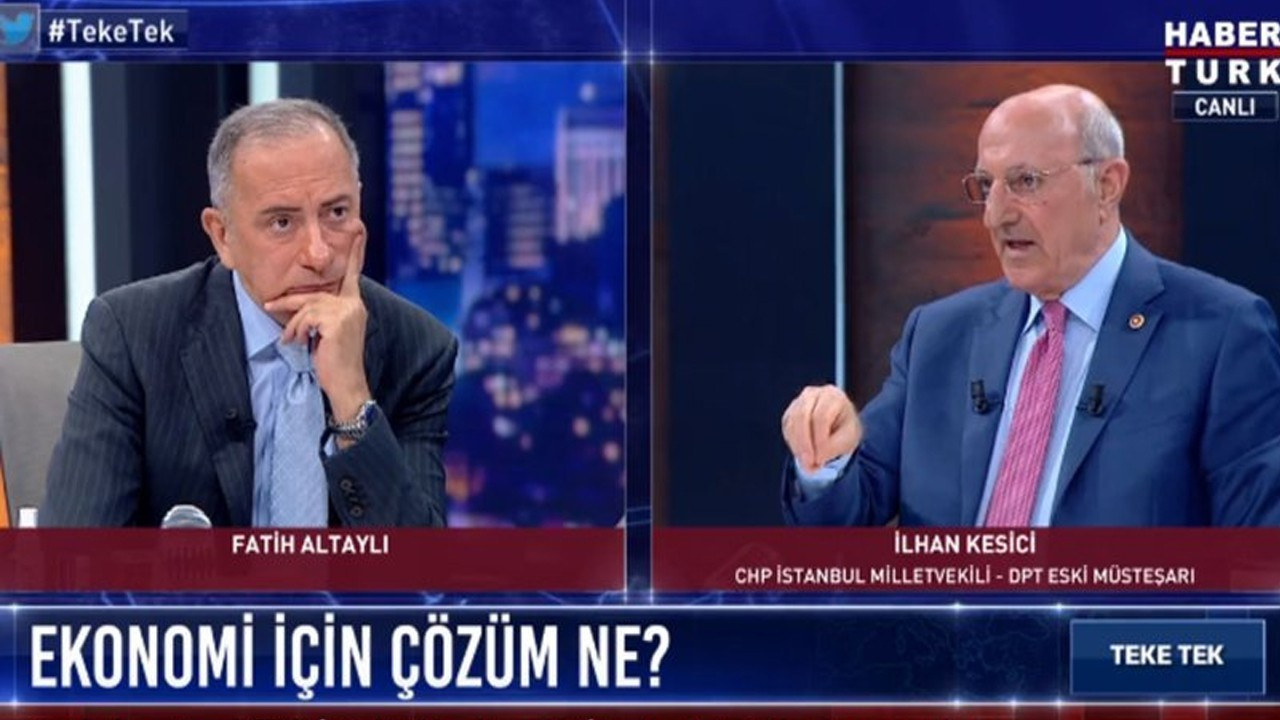 CHP Milletvekili İlhan Kesici'den çarpıcı tespitler
