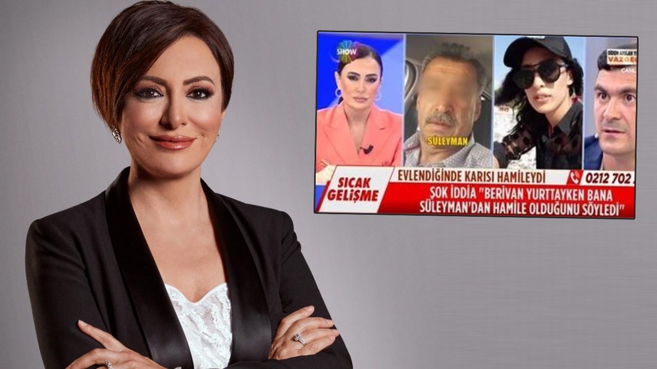 Didem Arslan Yılmaz'ın programında gündeme gelen olayda flaş gelişme