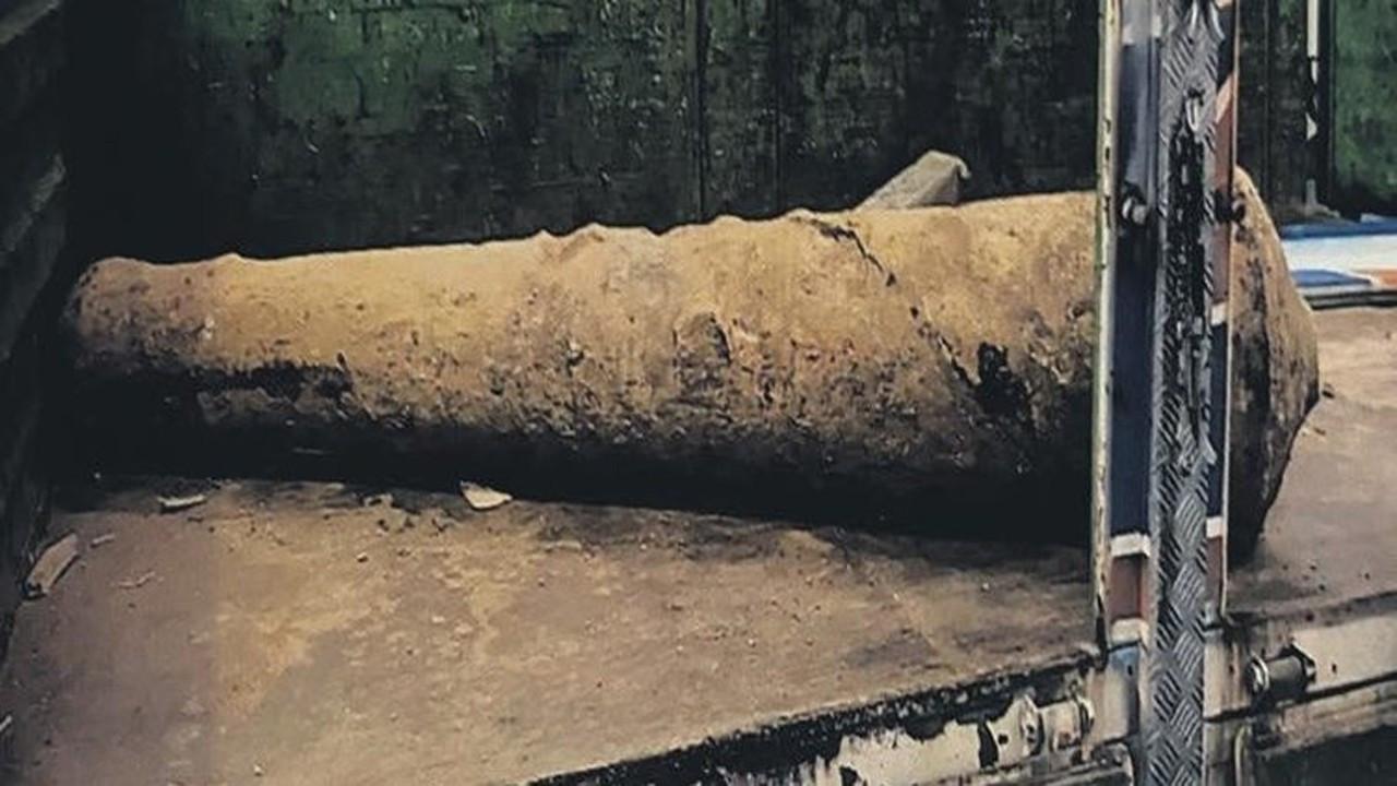 Tarihi top namlusunu kilosu 1.5 liradan sattı!