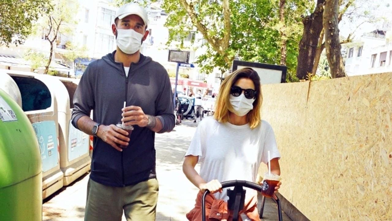 Volkan Babacan ve eşinin 20 gün sonra temiz hava sevinci