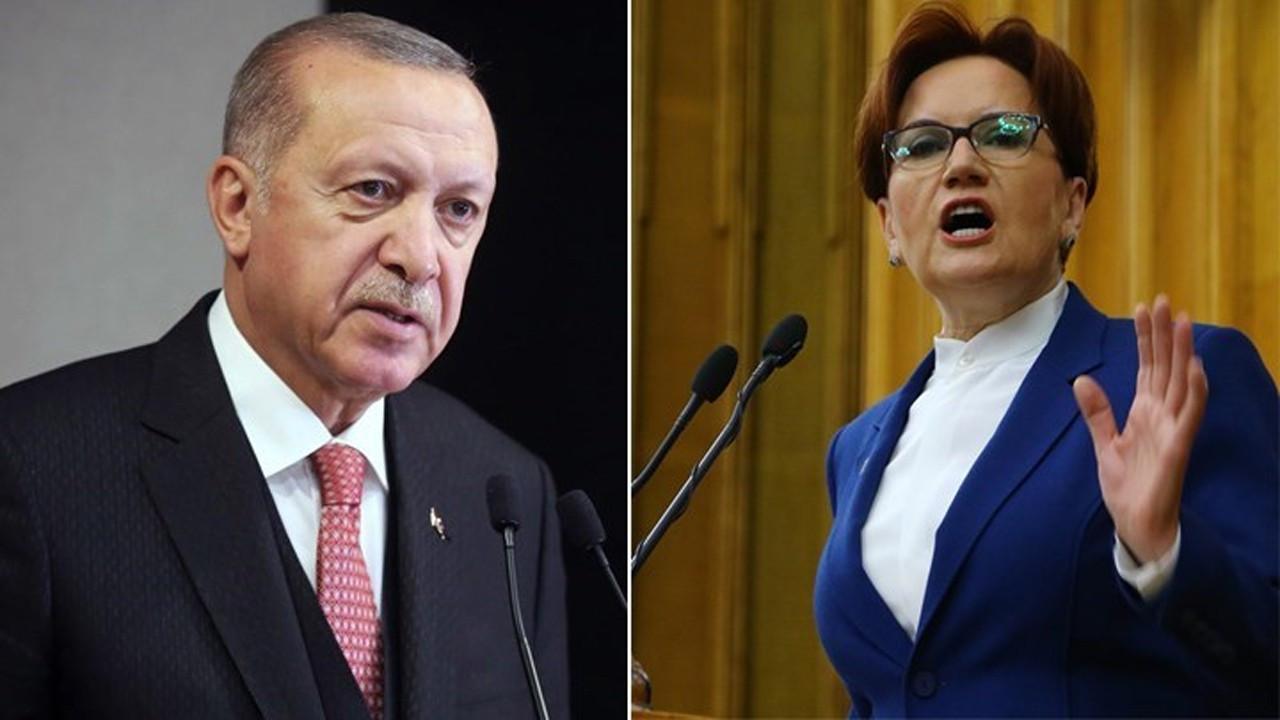 Cumhurbaşkanı Erdoğan'dan Meral Akşener'e dava