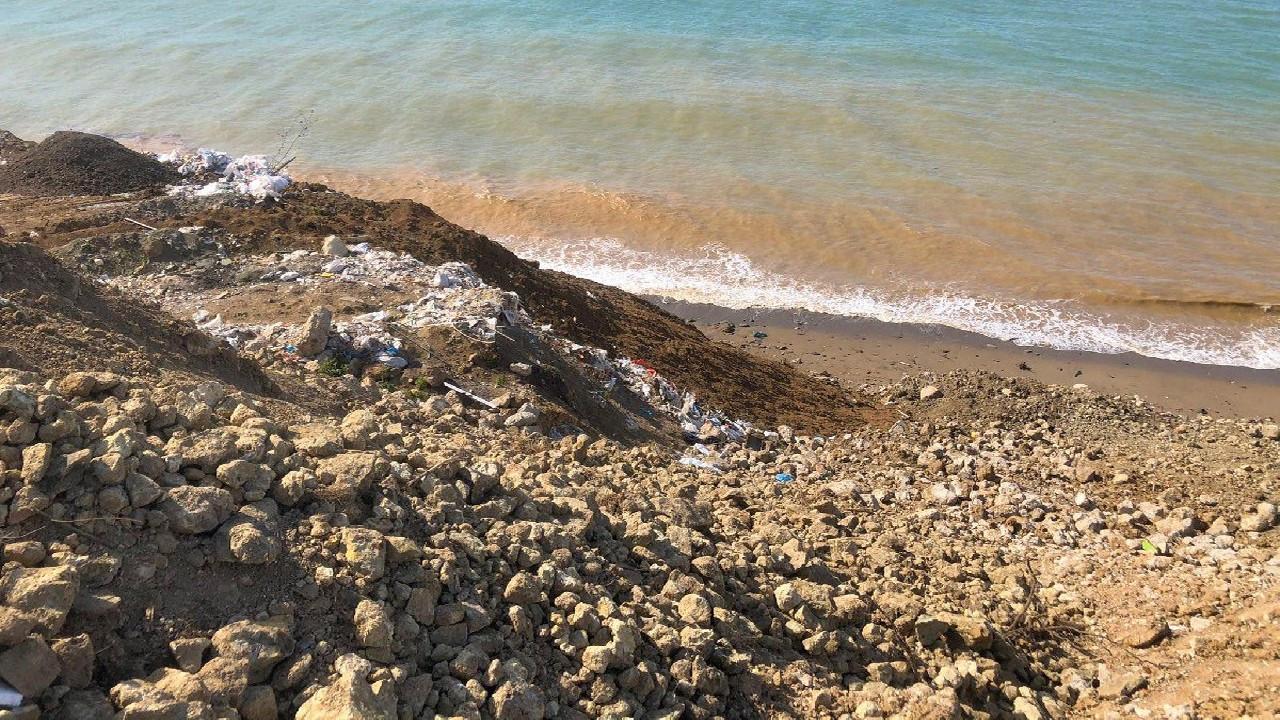 AKP'li Giresun Belediyesi denizi çöp ile doldurdu
