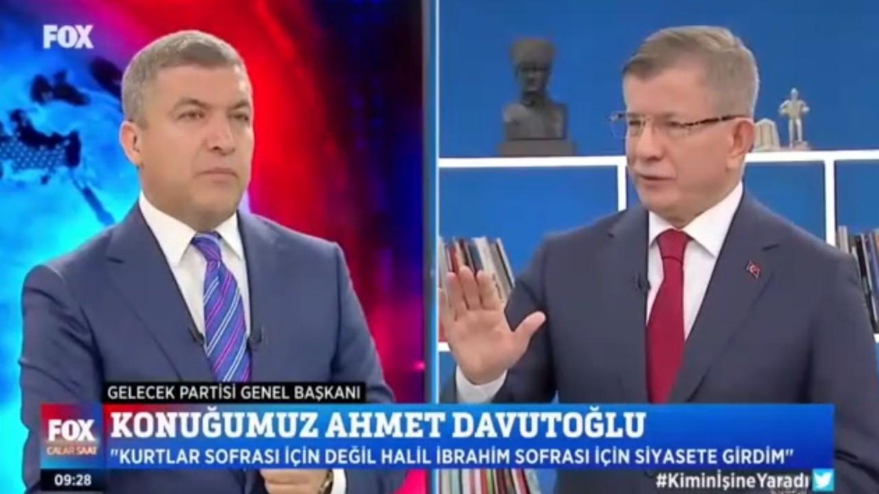 """Ahmet Davutoğlu: """"Soylu alçakça iftira atıyor"""""""