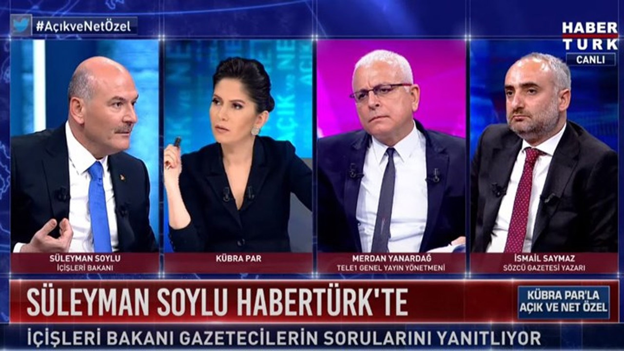 """İsmail Saymaz: """"Soylu yayına polis ordusuyla geldi"""""""