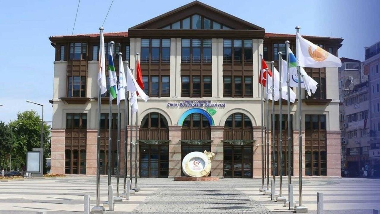 Ordu Büyükşehir Belediyesi hakkında vahim iddia