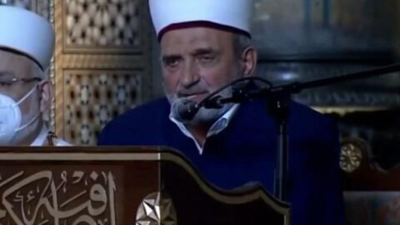 Ayasofya töreninde Ulu Önder Atatürk'e lanet okunmasına tepki yağıyor