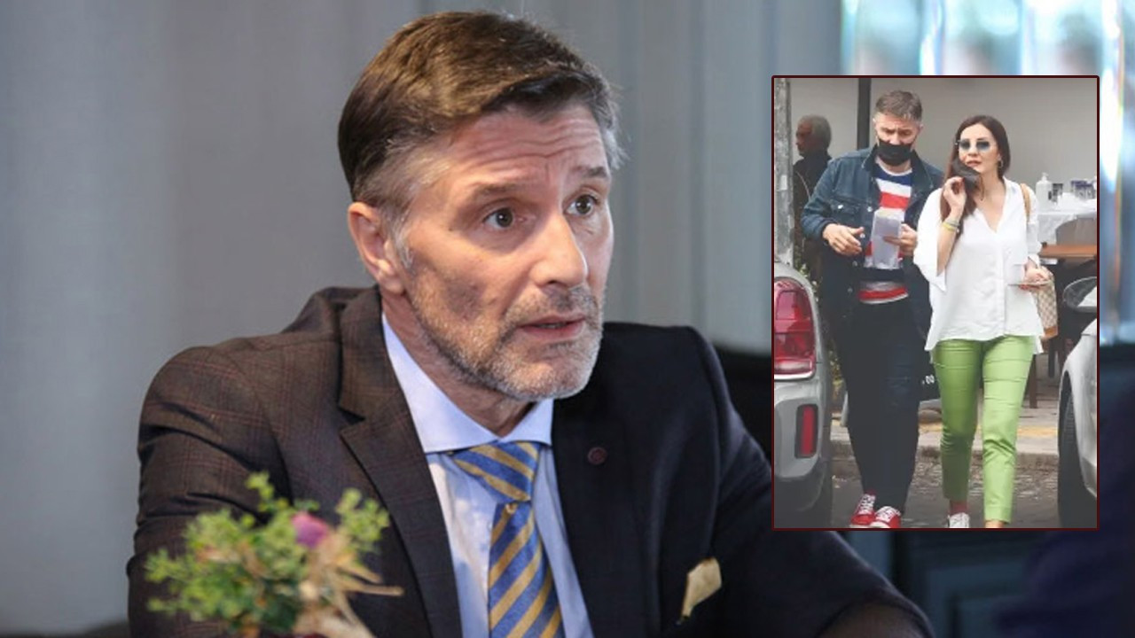 Hazım Körmükçü ünlü spikerle görüntülendi