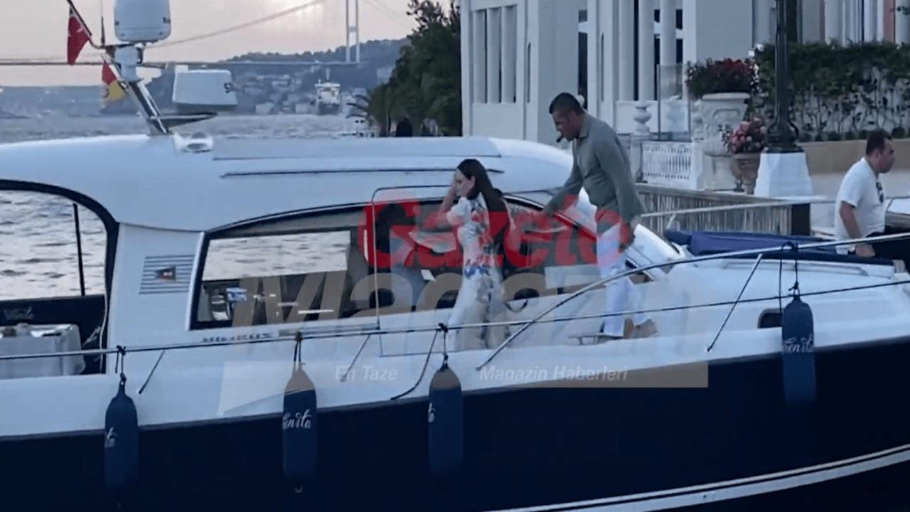 Sibel Can'ın indiği tekneye Buket Aydın bindi