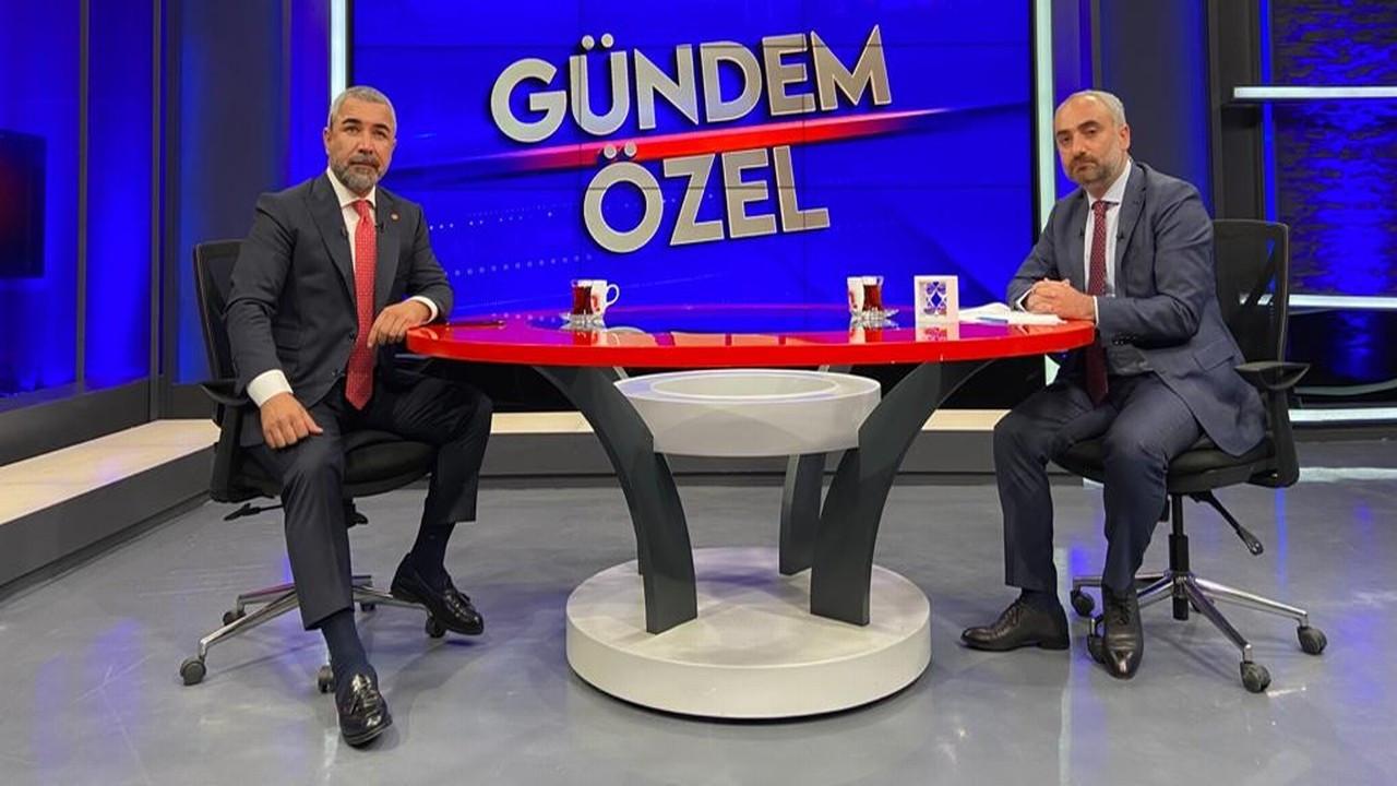 Veyis Ateş Halk TV'de İsmail Saymaz'ın sorularını yanıtladı
